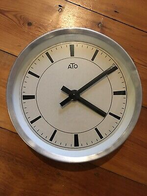 ATO Industrial Vintage Factory Clock