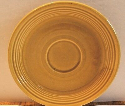 Vintage Saucer 1970 HOMER LAUGHLIN FIESTA COVENTRY CASUALSTONE ANTIQUE GOLD HLC