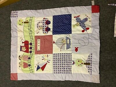 Nursery Cot Bedding 3 Piece Set Teddy's Day Out Baby Weavers