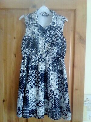 Girls Dress Age 9-10 George - exc. Cond.