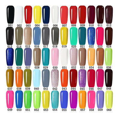 MS.QUEEN Gel Nail Polish No Wipe Top Base Coat Lacquer 300 Colors Available