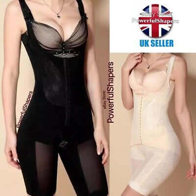 Ladies Womens Slimming All In One Piece Full Bodysuit Firm Control Tummy Trimmer