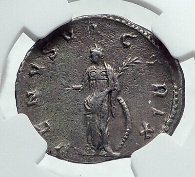 SALONINA wife of Gallienus Authentic Ancient 255AD Roman Coin w VENUS NGC i81413