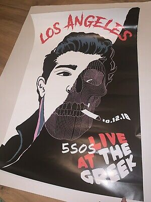 FIVE SECONDS OF SUMMER POSTER NEW 22x34 FAST FREE SHIPPING