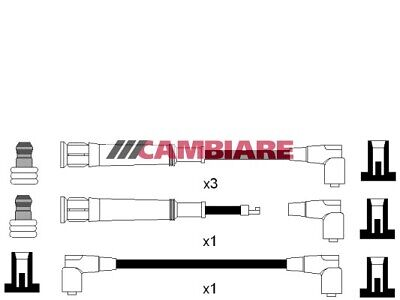 HT Leads Ignition Cables Set VE522358 Cambiare 12121727627 Quality Replacement