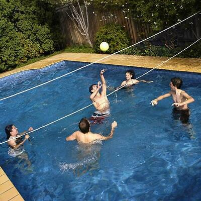 Pool Volleyball Net & Ball Set | 16ft (4.8mtr) Water Volley Ball Game