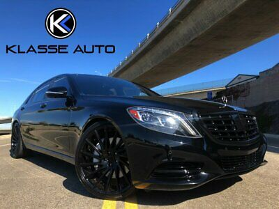 2015 S-Class S 550 2015 Mercedes-Benz S 550 Sedan Low Miles Custom Wheels Blacked Out Trim Must See