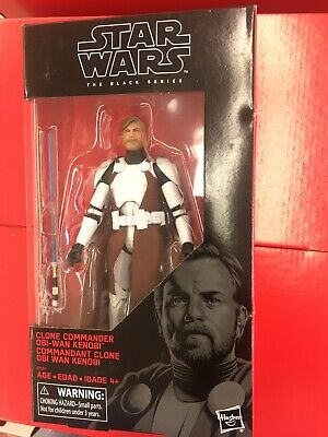Star Wars Black Series Clone Commander Obi-Wan Kenobi NEW Free Ship