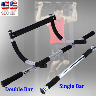 Chin-Up/Pull-Up Bar, Heavy Duty Doorway Trainer For Home Gym Workout New