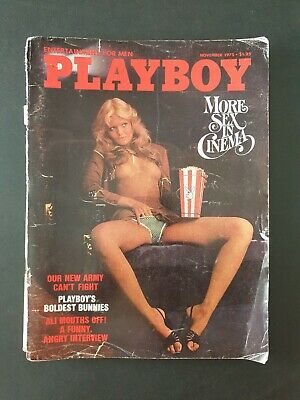 PLAYBOY - Entertainment For Men Magazine November 1975 *FRONT PAGE IS DETATCHED*