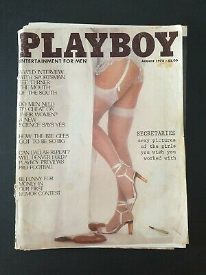 PLAYBOY - Entertainment For Men Magazine August 1978