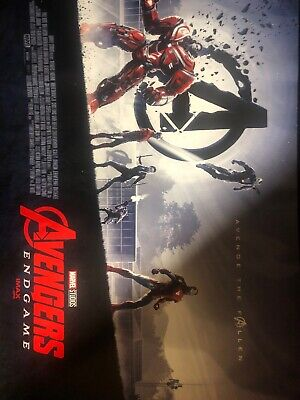 Avengers End Game Opening Weekend Imax Movie Poster Marvel Studios Limited Edt.