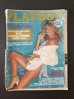 PLAYBOY - Entertainment For Men Magazine December 1978 FARRAH FAWCETT