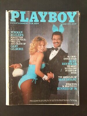 PLAYBOY - Entertainment For Men Magazine October 1979