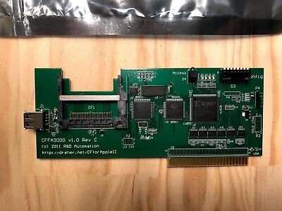 Apple II CFFA 3000 Card. As new, never used.