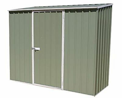 Metal Outdoor Garden Shed 7'5x2'7 Storage Store Container Pent Roof 7ft 2ft