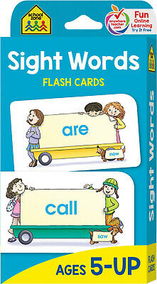 Flash Cards Sight Words Brighter Child Educational Book Toddler Kids Learn Gift