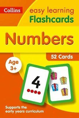 Flash Cards Numbers Brighter Child Educational Book Toddler Kids Gift