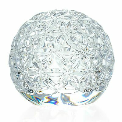 """Waterford Crystal Star of Hope 3"""" Wedge Cut Ball Paperweight"""
