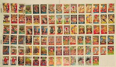 TRASH CAN TROLLS 1992 TOPPS COMPLETE BASE CARD SET OF 88 CH GARBAGE PAIL KIDS