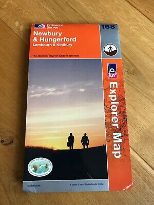 Newbury and Hungerford by Ordnance Survey (Sheet map, folded, 2006)