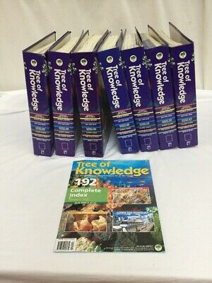 Marshall Cavendish Tree of Knowledge Encyclopedia - 6 Binder Collection