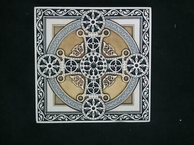 Byzantine Orthodox Cross Tile Art 5x5""