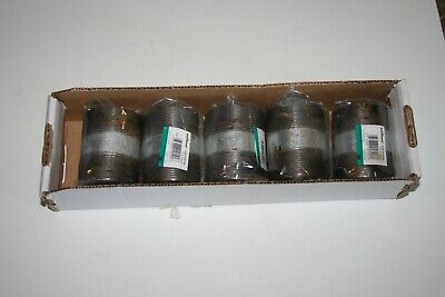 """Lot of 5 Southland  2"""" X 3"""" Galvanized Threaded Steel Pipe Nipple"""