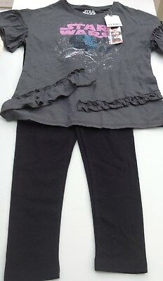 Next girls Star Wars top and leggings age 8