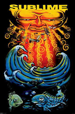 SUBLIME - Sun & Fish - Music Poster - 24 in x 36 in