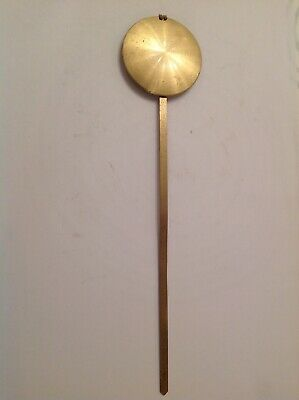 Vintage Wall Clock Pendulum Bob 55mm Diameter