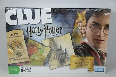 Clue Harry Potter Edition Parker Brothers 2008 Brand New Sealed Box
