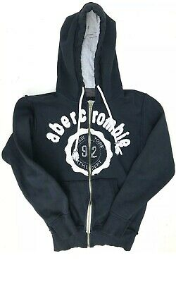 abercrombie & Fitch Hoodie Navy New York 92 Athletic Department Size M Womens
