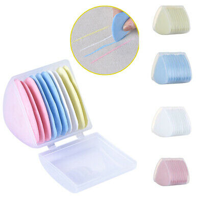 10pcs Triangle Tailor Chalk Assorted Dressmaker Erasable Fabric Dressing Powder