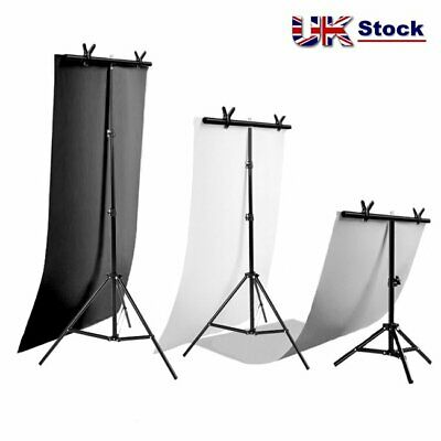 Selens T Backdrop Stand PVC Background Studio Photography Support System Kit UK