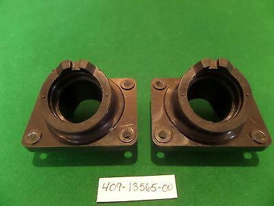 2 New Yamaha Tz 700 750 Rubber Carb Joint Inlet Block Manifolds (Not Rd 250 350)