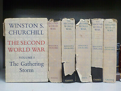 Winston Churchill - The Second World War - 1st Edition - 6 Books (ID:6403)