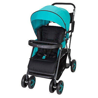 Baby Trend Sit N' Stand Sport Single or Double Baby Toddler Stroller, Meridian