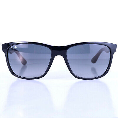 Preowned Ray-Ban RB4184 Polished Black Square Sunglasses 54 mm G1