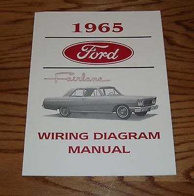 1965 Ford Fairlane Wiring Diagram Manual 65