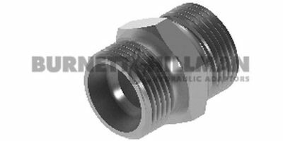 Burnett & Hillman METRIC Male x male S Series Body Only – Compression Fitting