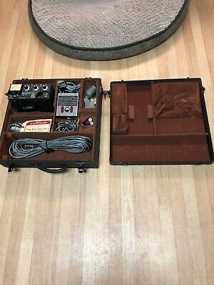 Auricon Berndt-Bach sound on tape recording amplifier With Microphone