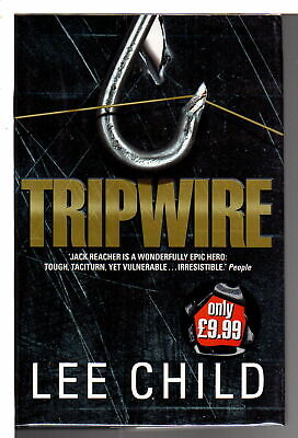 Lee Child TRIPWIRE Mystery, Suspense and Detective Fiction 1999 1st ed Signed