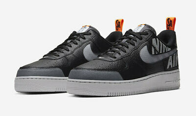 Air Force 1 Low Under Contruction Mens Lifestyle Shoe (WhiteGrey)
