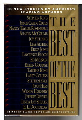 Koster BEST OF THE BEST 18 New Stories  1998 1st  ed SIGNED by Joyce Carol Oate