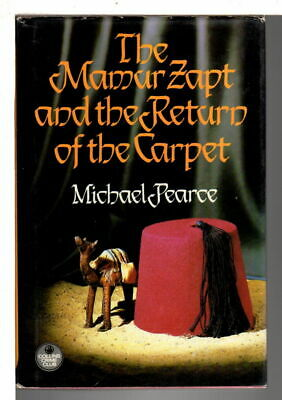 Michael Pearce MAMUR ZAPT & THE RETURN OF THE CARPET 1988 1st ed Collins Crime