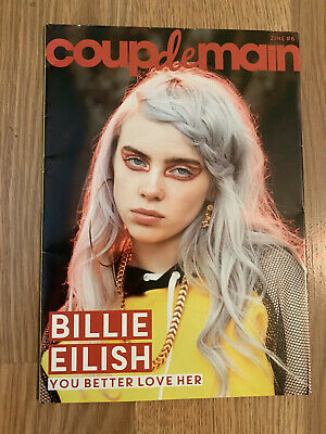 Billie Eilish Coup De Main Mini Magazine New Zealand Import Rare