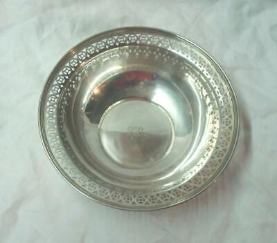 "Antique TIFFANY & Co. MAKERS 8 1/2"" Sterling Silver Bowl. No Reserve"