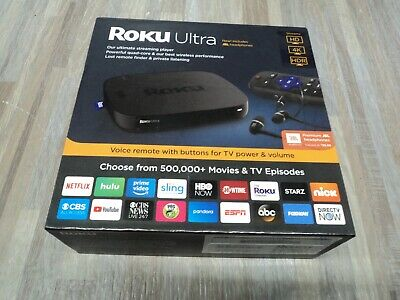 Roku Ultra 4661R 4K Streaming Media Player Device with JBL Premium SEALED New