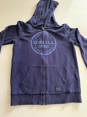 O'Neill Boys Navy Hoodie - size 14 - Excellent Condition - FREE POSTAGE